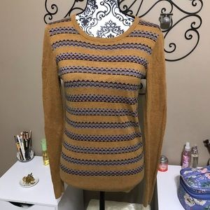 Coincidence & Chance Anthro Patterned Sweater M
